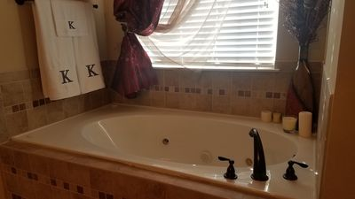 Photo for UPSCALE ESTATE W/ CLEANING SERVICE.. MANICURED LAWNS W/ COVERED BACK PATIO .