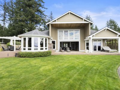 Photo for Stunning waterfront home on Gig Harbors Hendeson Bay with Golf Room