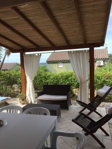 Photo for Villasimius, Is traias 11, the house 50 meters from the beach