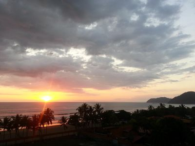 most fantastic sunsets from your private 60 foot balcony