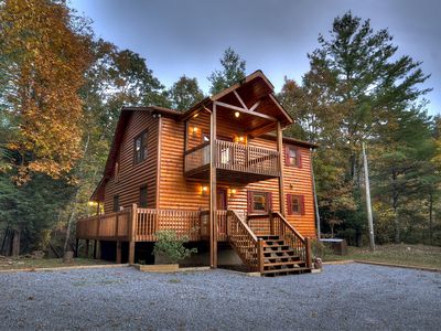 Photo for Private and Secluded Cabin with Creek Frontage on Laurel Creek