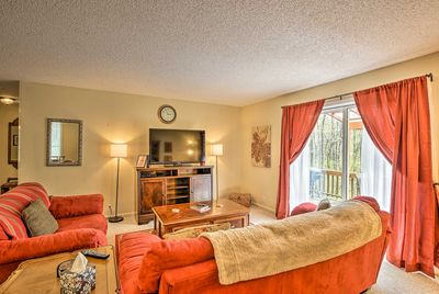 Luxury awaits at this Hot Springs Village vacation rental townhome!