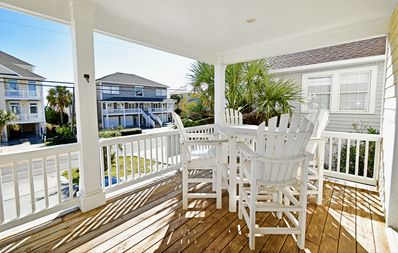 Photo for Sleeps 16! Ocean View Home with 2 Decks! Steps from the beach!