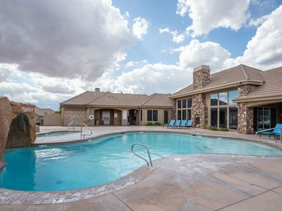 Photo for Family Getaway-2 pools, Fishing Pond, Putting Green, Playground, etc