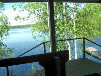 Photo for Vacation home Myllylammen lomamökit  in Parikkala, Kymenlaakso Etelä - Karjala - 5 persons, 2 bedrooms