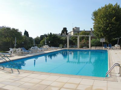 Photo for New refurnished 4 room flat, terrace, garden, pool, tennis, 5min walk to beach