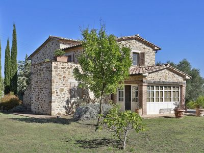 Photo for Beautiful stone farmhouse with pool situated in the Maremma