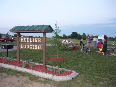 Photo for Mudline Lodging your premier Cabin, RV & Campsite Rental in Southern Illinois!