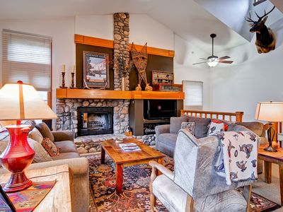 Photo for Everything about Meadows Townhome A5 will make you feel like you are in a mountain cabin getaway. Gr