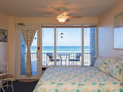 Photo for Salt Life Getaway: Oceanfront Views, King Bed, 1st Floor Entry/2nd Floor Balcony, FREE HBO/WIFI