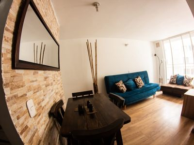 Photo for PRIVATE APARTAMENT 3 BEDROOMS,1 BATHROOM. NEAR THE EMBASSY, THE AIRPORT