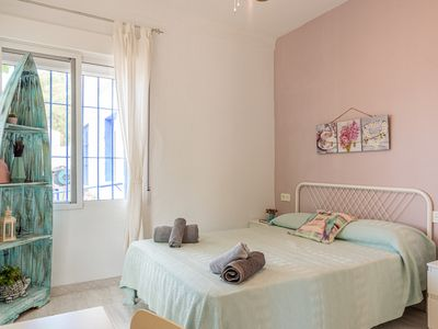 Photo for Blue Castle Málaga - Spacious room with shared bathroom