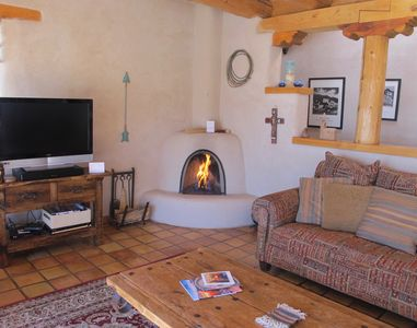 Photo for Authentic Adobe with Dead-on Taos Mountain Views