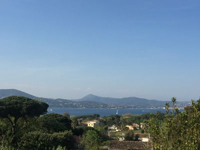 Photo for The View, The apartment view meet exceptional location at the entrance of Saint Tropez