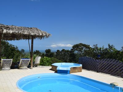 Photo for Spacious villa with stunning sea views in the heart of the forest