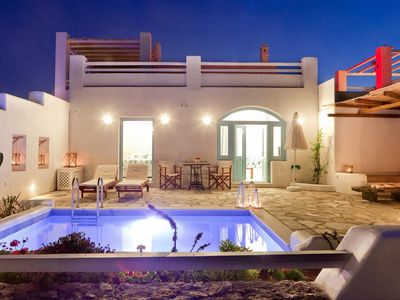 Photo for BlueVillas | Villa Zephyros | Private plunge pool, sea view, close to the beach
