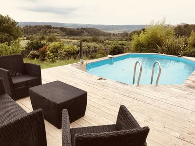 Photo for Quiet country house, Aix en Pce price