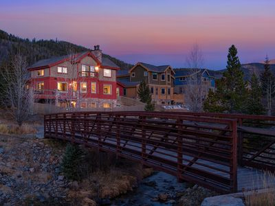 Photo for New gorgeous remodel. River and Mtn views, walking path/trails, fenced yard