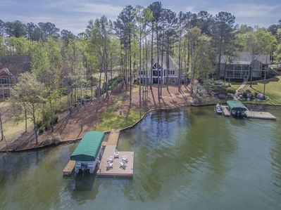 170 feet of lake frontage with big water views