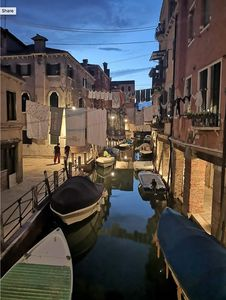 View Over A Canal InThe Other Venice, Where The Real Venetians Live (new reno)