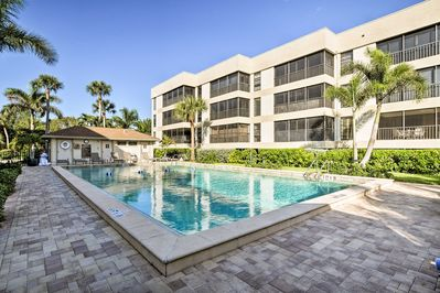 Dive into relaxation at this vacation rental condo in Sanibel!