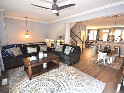Photo for Awesome Luxury 5 Bedroom Townhouse With WiFi In Gated Community On Bayside With Indoor/Outdoor Pools, Private Beaches, Restaurant, And More Just Ten Minutes From Beach!