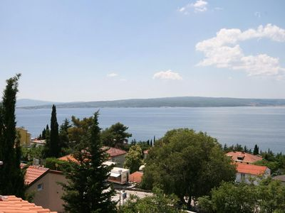 Photo for Studio flat with terrace and sea view Dramalj, Crikvenica (AS-5534-b)