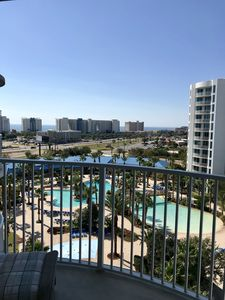 Photo for Coastline Views! 8th Floor-Lagoon Pool-Palms of Destin Resort! 2 Bed/2 Bath