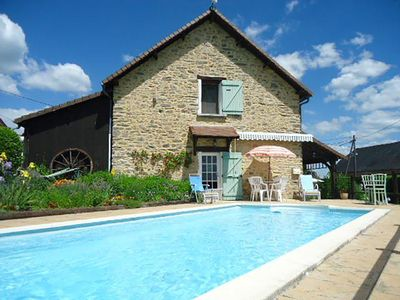 Photo for NEW RENTAL: Villa 8 people in stones - private swimming pool - south terrace