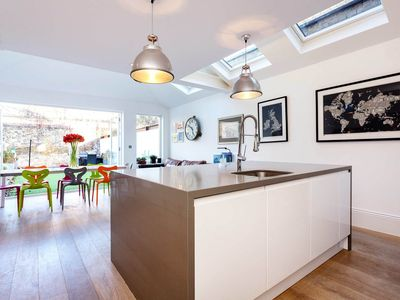 Photo for Spacious and modern five bedroom house with garden in Clapham, (Veeve)