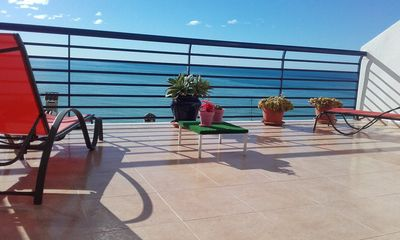 Photo for Charming apartment in the heart of Peñiscola overlooking the Mediterranean Sea