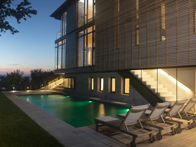 Photo for Waterfront Modern House on Peconic Bay