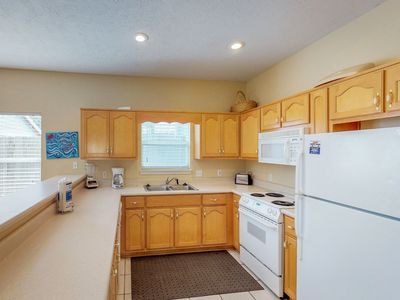 Photo for NEW LISTING! Classic and comfy home with plenty of room and a prime location!