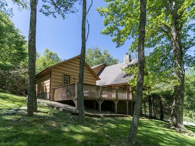Photo for Almost Heaven ~ Bright and Sunny Cabin in the Valle Crucis Area