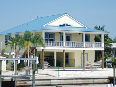 Photo for Three bed, three bath pool home on a canal in Pine Island, Florida