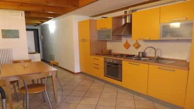 Photo for Apartment in Malosco in Val di Non with balconies and views