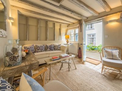 Photo for Wonderfully stylish and cosy love nest just 100 yards to the harbour stylish interior