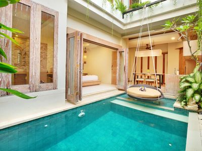 Photo for Cozy 2 Bedroom Pool Villa in Legian