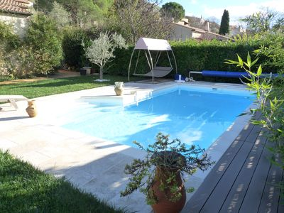 Photo for Nice house in a quiet pool with greenery