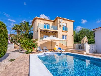 Photo for 4 bedroom Villa, sleeps 8 in Ifac with Pool, Air Con and WiFi