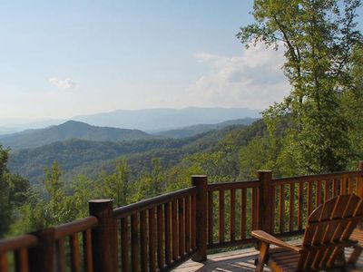 Photo for Brown Bear Lodge - Watershed Cabins - luxury and view