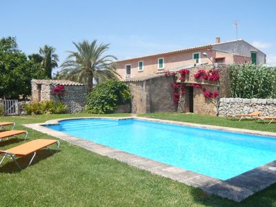 Photo for authentic rural country house with large private pool not far from the sea