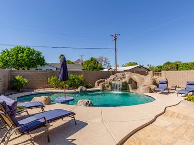 Photo for BRAND NEW to VRBO! Old Town Scottsdale with Private Backyard Pool, BBQ Grill and Dining. 5 Mins to Old Town!