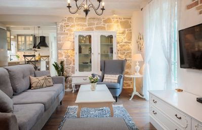 Photo for Elegant, Charming and Chic Apartment with garden in the Heart of Split, Croatia