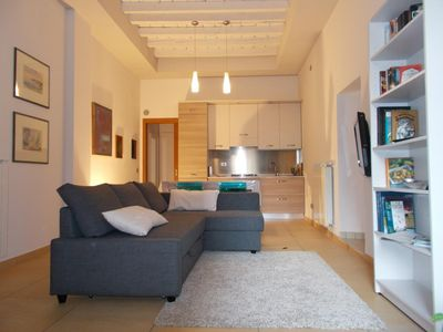 Photo for Salò apartment for 4 people with 1 bedroom - Apartment
