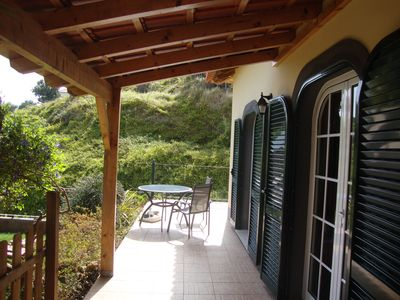 Photo for MALMSEY - Lovely Cottage with sea view, on the sunny south-west coast of Madeira