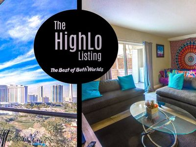 Photo for HighLo Best of Both Worlds Penthouse View and Poolside Deck