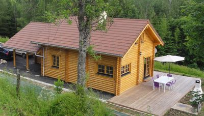Photo for CHALET IN ROUNDS CONTE with SAUNA, WIFI, any comfort for 6 pers