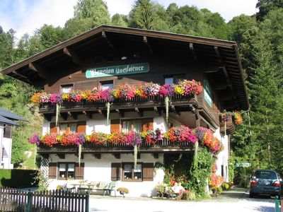 Photo for Spacious and pleasant apartment in well-known Saalbach - Summer including Joker card