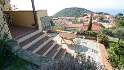 Photo for Country house Gabbiola / 180 ° sea view / sunset / apartment 30 sqm